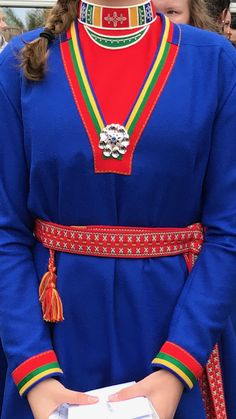 Folk Costume, Costumes, Umea, Finland, Sweden, Countries, Paradise, Weaving, Crafting