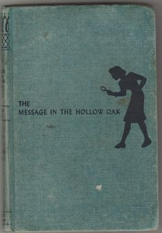Nancy Drew Mystery The Message in the Hollow Oak by Carolyn Keene 1935 Vintage Blue Tweed Hardcover by BirdhouseBooks on Etsy Nancy Drew Books, Nancy Drew Mysteries, Barnyard Animals, Writing Numbers, Mystery Series, Little Golden Books, Good Communication, Vintage Children's Books, Vintage Christmas Cards