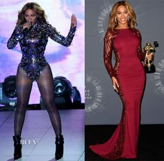 Beyonce Knowles In Tom Ford & Zuhair Murad - 2014 MTV Video Music Awards #VMA