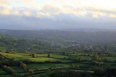 Chagford from Uppacott yesterday evening. Dartmoor, Devon, Genealogy, Vineyard, Golf Courses, Outdoor, Outdoors, Vine Yard, Vineyard Vines