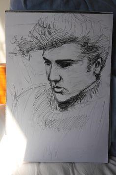 Elvis sketched