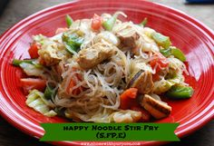 stirfry with THM not so naughty noodles