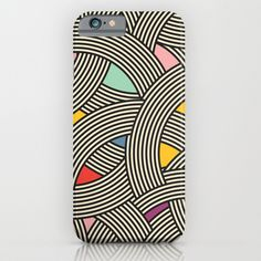 Modern Scandinavian Multi Colour Color Curve Graphic Phone Cases / iPhone 6 Slim Case season of victory, seasonofvictory, season_of_victory, #seasonofvictory    #Modern, #minimal, #geometric, #design, #print, #pattern, #AOP, #graphic, #Scandinavian, #mid century, #art, #deco, #curves, #stripes, art, vintage, #scandi, #multi, color, colour, dash, lines