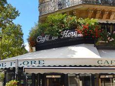 Cafe de Flore.  The Top Ten Paris Visits : The Good Life France