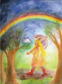 Regenboog (K30-779) ansichtkaart