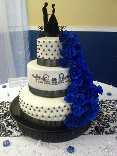 royal blue and black wedding cakes my cakes on frozen cake fathers day cake and 19344