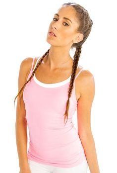 #Stay #On-trend with #Comfy #Baby #Pink #Camisole from @Alanic.com