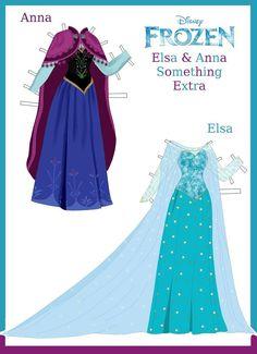 Disney's Frozen Paper Dolls: Something Extra by evelynmckay