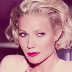 Some Like It Hot! See Gwyneth Paltrow's Marilyn Monroe-Inspired Campaign for Max Factor  #InStyle