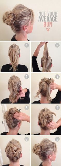Top 10 Hairstyle tutorials for this autumn...