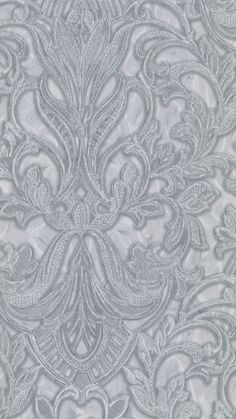 An Intricate Lace Design brought to you by I Love Wallpaper.  For more colours and similar designs visit ilovewallpaper.co.uk #wallpaper #homeaccents #ilovewallpaper #interior Damask Wallpaper, White Wallpaper, Love Wallpaper, Metallic Prints, Lace Design, Grey And White, Printable, Tapestry, Inspire