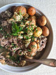 Crockpot Pot Roast and Potatoes