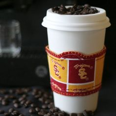love this! usc and coffee . . . two of my favorite things:)