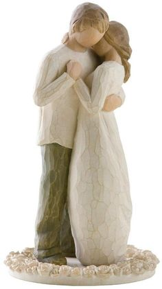 Willow Tree by Demdaco Promise Cake Topper