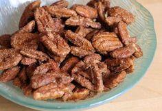 sweet & spicy pecans