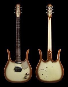 Vintage Vault Dano3. A Danelectro Guitarlin. Only 200 were sold between 1958 and 1968. Via Premier Guitar.