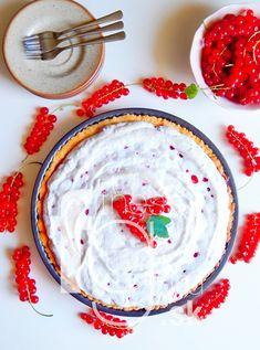 Ríbezľový meringue koláč