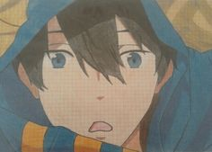 Drawing of Elisa.D - Haruka Nanase -Free