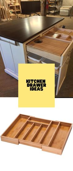DIY Kitchen Drawer Ideas #drawers #kitcendecor Drawer Inspiration, Drawer Ideas, Drawer Design, Kitchen Drawers, Diy Kitchen, Cool Kitchens, Diy Home Decor, Cabinets, Architecture