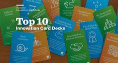 Top 10 Innovation and Design Card Decks – Innovation Excellence Oblique Strategies, Innovation Management, Design Brochure, Poster Art, Deck Of Cards, Design Thinking, Innovation Design, Service Design, Card Games