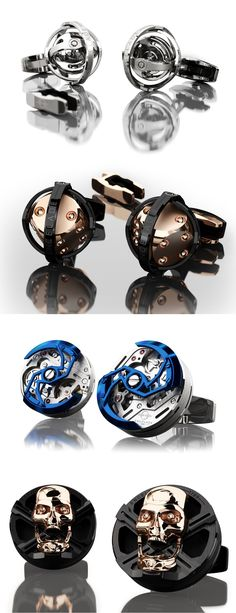 The Encelade cufflinks are literally revolutionary!