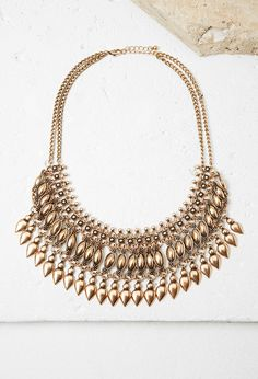 Teardrop Statement Necklace | Forever 21 - 1000162906
