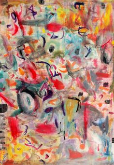 "Original #painting ""kandinsky"" by artist #marinadewit"