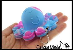 Bubble Popper, Cute Octopus, Generalized Anxiety Disorder, Obsessive Compulsive Disorder, Stress Toys, Fidget Toys, Occupational Therapy, Bubble Wrap, Flipping