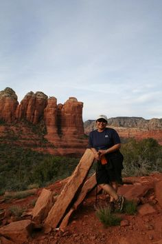 @azdhs #azhealthyhabits Hiking in Sedona!  It's a great way to get cardio in and take in some amazing views!  Happy trails all!