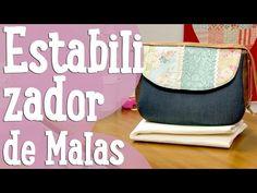 Estabilizador de Malas e Carteira - Costura Comigo - YouTube