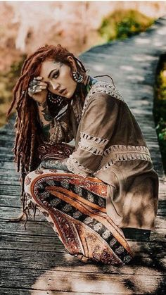 Women S Fashion Trivia Questions Tribal Fashion, Boho Fashion, Fashion Beauty, Fashion Hats, Colored Dreads, Bohemian Culture, Beautiful Dreadlocks, Dreads Girl, Dread Hairstyles