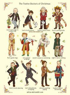 The Twelve Doctors of Christmas