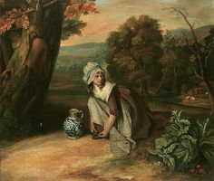 Henry Walton - A COUNTRY MAID