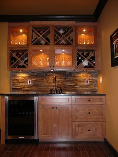 Beautiful Custom Basement Bars