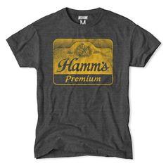Men's Premium Vintage Hamm's Beer T-Shirt