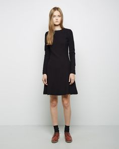 Carven  Seersucker Dress | La Garçonne