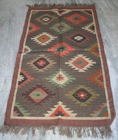3' x 5' Ft Afghan Vintage kilim Rug, carpet Kilim Rug, 92 x 152 cm Persian Rug, #Turkish