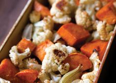 Roasted vegetables are a tasty and flavorful side. They go well with just about any entrée!