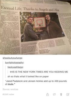 Kripke said it can go on til Jared and Jensen wanna stop, so basically forever