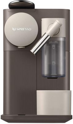Nespresso Delonghi Lattissima One Single-Serve Espresso Machine Cappuccino Maker, Cappuccino Machine, Espresso Maker, Coffee Maker, Cappuccino Coffee, Nespresso Lattissima, Nespresso Machine, Design Digital, Italian Coffee