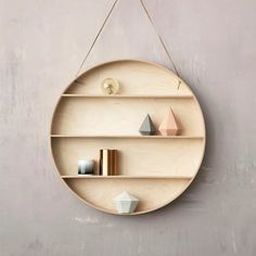 for your little things || hanging wall shelf