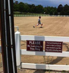 Equestrian problems, horse problems.                                                                                                                                                                                 More