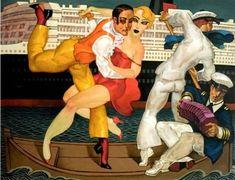 Tango Queen Mary II by Juarez Machado
