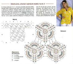 Crochetemoda: Blusa de Crochet Amarela