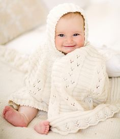 organic baby cape - so sweet!