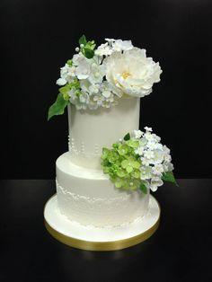 Spring Wedding Cake .
