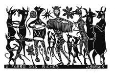 Xilogravura: arte milenar que marca a identidade da cultura do Nordeste do Brasil - J.Borges;