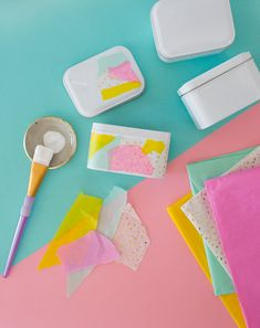 DIY Easter tins from Oh Joy