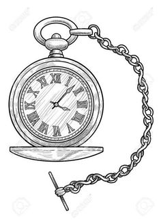 18+ Pocket Watch Line Drawing #pocket #watch #outline #pocketwatchoutline Pocket Watch Drawing, Pocket Watch Tattoos, Alice In Wonderland Clocks, Alice In Wonderland Drawings, Celtic Tattoo Symbols, Celtic Tattoos, Clock Tattoo Design, Clock Tattoos, Clock Drawings