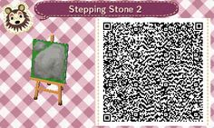 by popular demand, here are the qr codes for the stepping stone tiles i am currently using in my town! however i absolutely stand by what i said before — it is far better to make your own so that you...